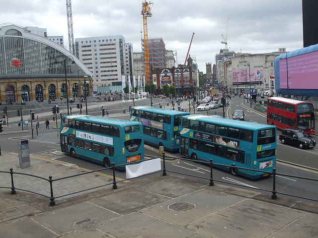 DSCF7963 Buses in Liverpool - 16 Jun 2017