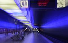 Station der U 4 in Hamburg
