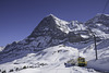 auf der 'Kleinen Scheidegg' ... Blick zur 'Eiger-Nordwand ... P.i.P. (© Buelipix)
