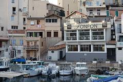 """""""Chez Fonfon"""" Port de pêche au vallon des Auffes Marseille"""