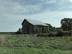 A Barn Beside the Road