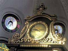 Altar der Kirche in Moritzburg/Sachsen