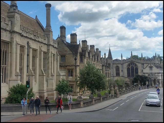 Magdalen College street frontage