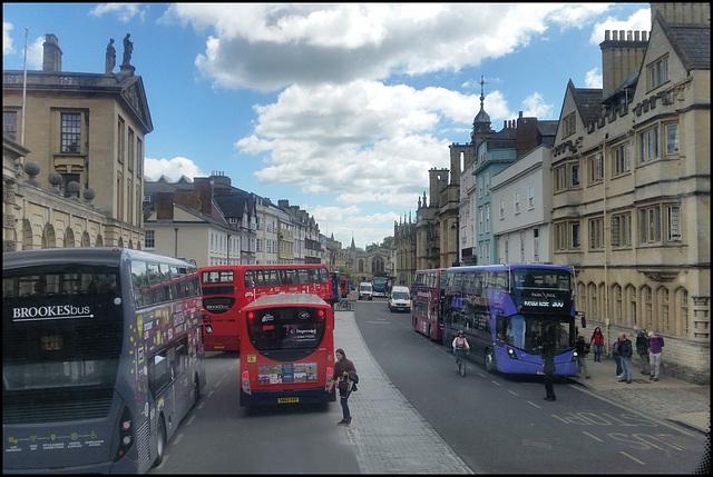 High Street buses