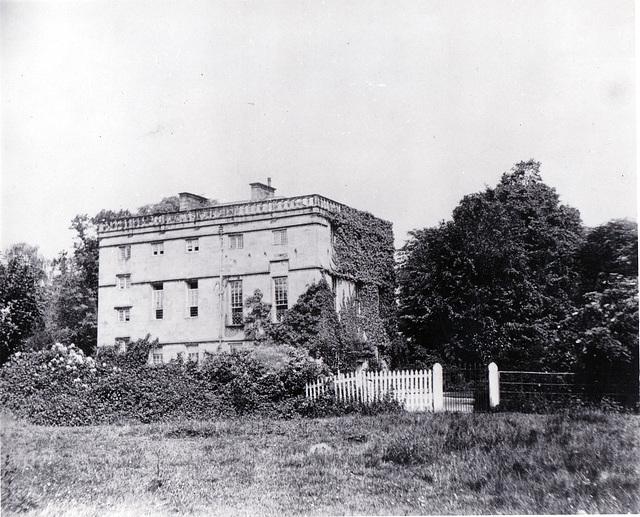 Tupton Hall, Derbyshire (Demolished)