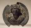 Bronze Roundel Bust of Dionysos in the Metropolitan Museum of Art, July 2016
