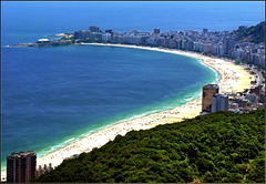 Rio de Janeiro : COPACABANA Beach - (869)