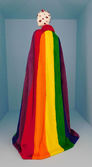 Cape by Burberry in the Metropolitan Museum of Art, August 2019
