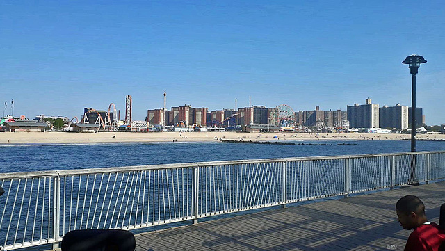 HFF - ein Blick auf Coney Island