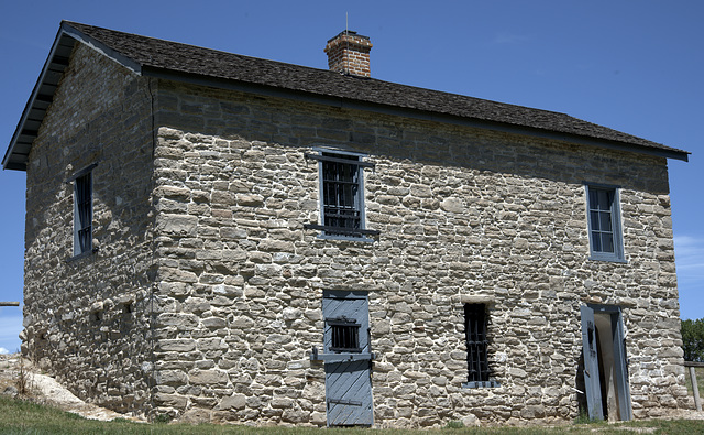 Old Guardhouse at Fort Laramie