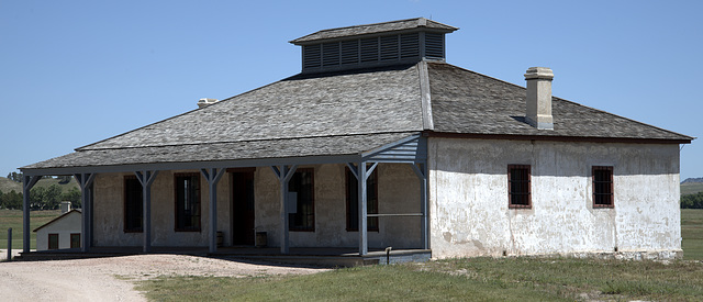 Newer Guardhouse at Fort Laramie