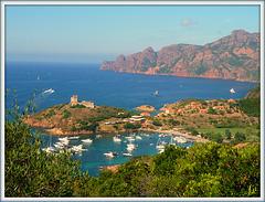 ** Paysage de Corse **