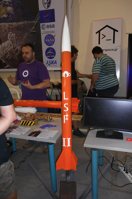 LSF-II model rocket