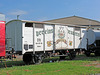Restaurierter Biertransportwagen der Apoldaer Vereinsbrauerei