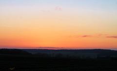 Quel beau coucher de soleil !
