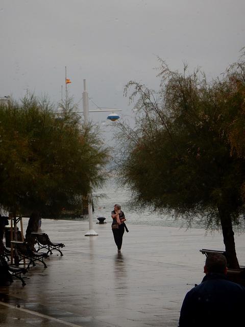 rainy day - Santander