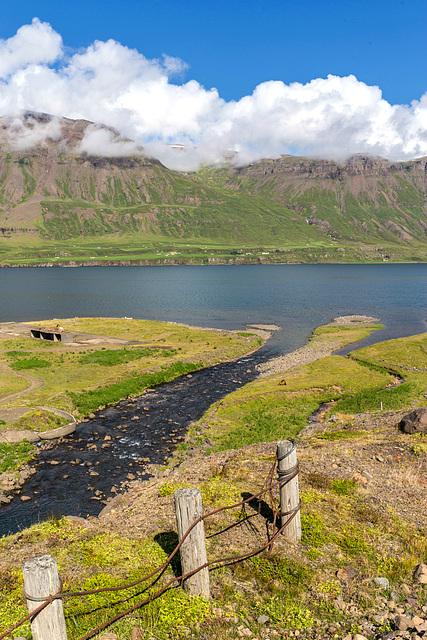 Hánefsstaðir fence