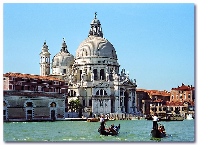 """Cathedral """"Santa Maria della Salute"""" anno 1631"""