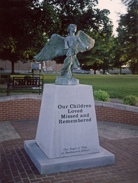 Statue For Lost Children