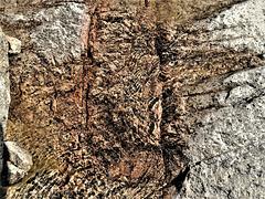 Babbling stream over granite. H. A. N. W. E. everyone!