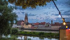 Sommerabend in Regensburg