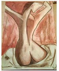La femme sur un lit de soie ..par Nohallel