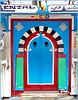 Hammamet : una porta 'capolavoro' ! nella Médina.
