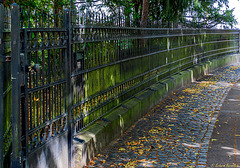 A rolling fence gathers no moss
