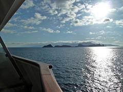 Stimmunsvoller Blick zur Insel Madeira