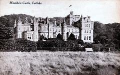 Mauldslie Castle, Lanarkshire (Demolished) From a c1910 postcard