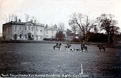 Crookhill Hall, South Yorkshire (Demolished) from a c1920 postcard
