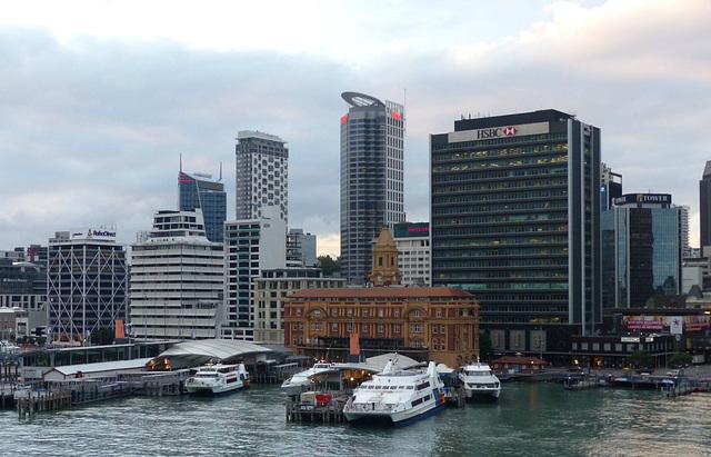 Auckland Skyline - 20 February 2015