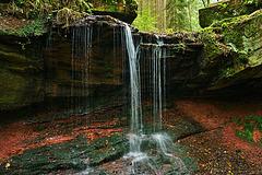 Der Tretstein Wasserfall - Tretstein Waterfall