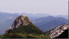 Pog de Montségur (face Ouest).