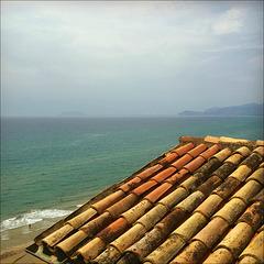Rooftop seaview.