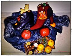 ... der Nikolaus war da - meine Stiefel sind gefüllt ... (PiP)