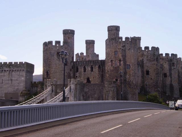 Conwy Castle - UNESCO heritage since 1986.