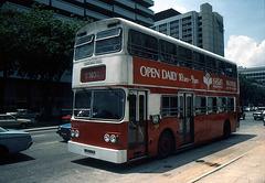 Singapur mit einem Hauch aus Britischer Zeit 1981