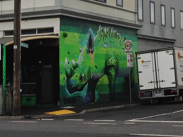 rhino graffiti