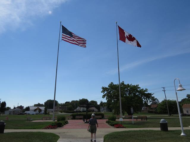 Small park in Port Huron