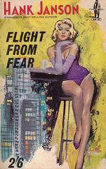 Hank Janson - Flight from Fear (Roberts & Vinter edition)