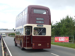 DSCF4818 Coventry City Transport 334 CRW - 'Buses Festival' 21 Aug 2016