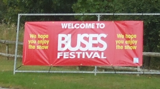 'Buses Festival' at the National Motor Museum, Gaydon - 21 Aug 2016