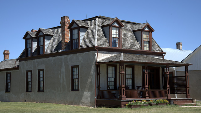 Burt House at Fort Laramie