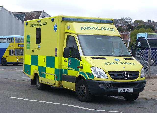 Isle of Wight Ambulance Sprinter - 29 April 2015