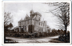 Castle Roy, Broughty Ferry, Angus, (Demolished) from an Edwardian postcard