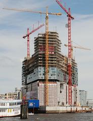 Elbphilharmonie im Bau:   Mai 2010