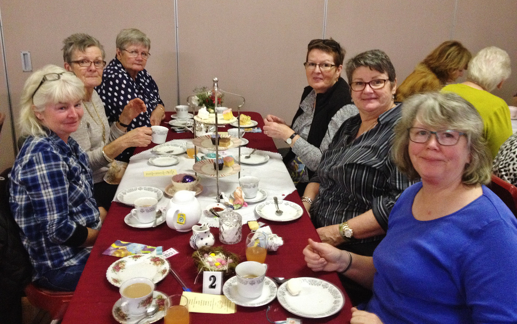 Easter High Tea in Foster