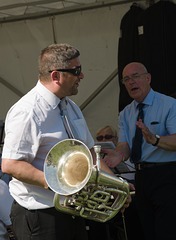 """""""Well played, sir"""" - at the Poynton Show"""