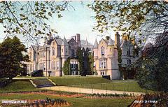 Inchdairnie House, Fife, Scotland (Demolished) From a c1910 postcard